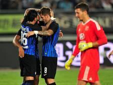 Jovetic leidt Inter langs 'Nederlands' Lyon