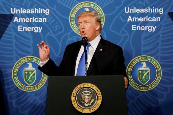 Donald Trump zal straks zijn beslissing over Iran bekendmaken.