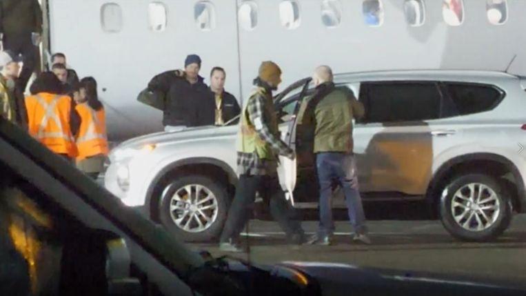 Prins Harry arriveert in Canada