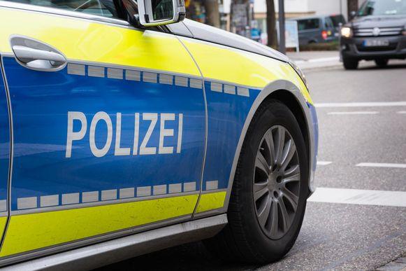 Duitse politie, beeld ter illustratie.
