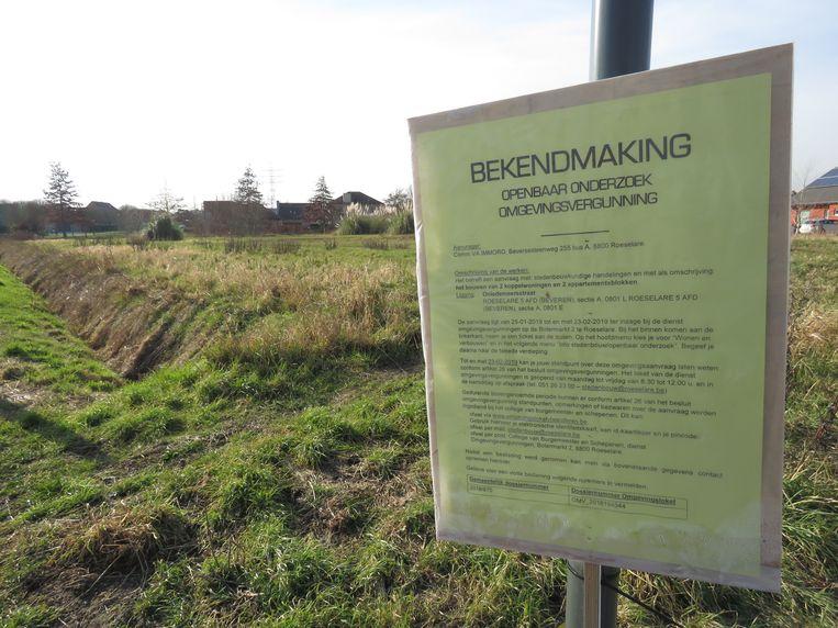 Het openbaar onderzoek voor het nieuwbouwproject in de Onledemeersstraat liep in februari af.