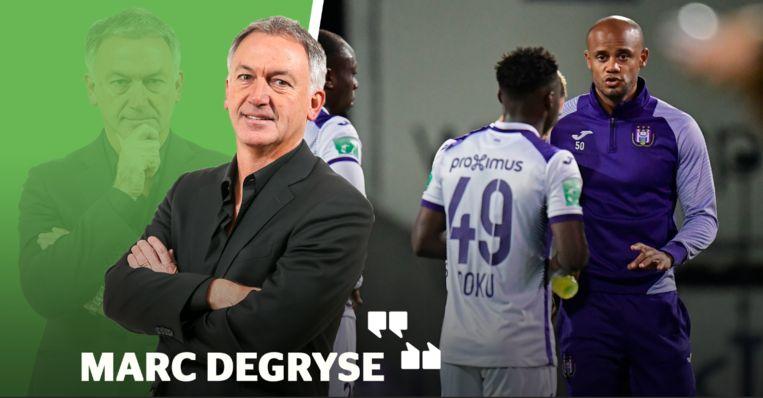 Marc Degryse fileert de bekermatch van Anderlecht.