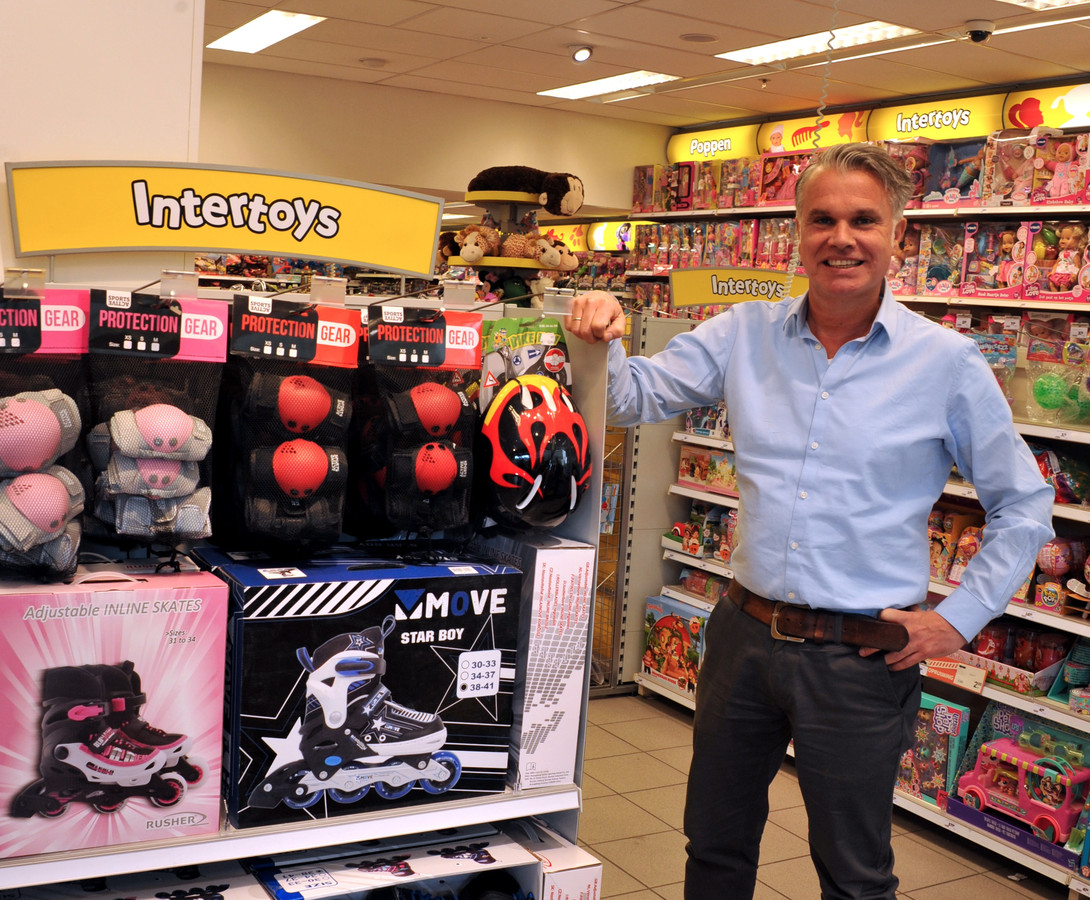Imert Harrand van Intertoys in Zwijndrecht.