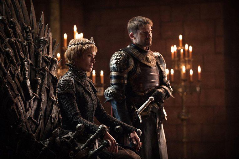 Cercei Lannister is sinds de dood van haar laatste zoon Tommen koningin van de zeven koninkrijken. Beeld Helen Sloan / HBO