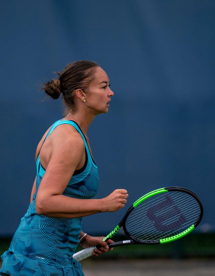 13-06-2019 NED: Libema Open, RosmalenGrass Court Tennis Championships / Lesley Kerkhove NED