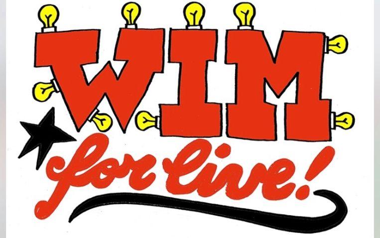 Wim for Live, en gelukkig niet 'for life'