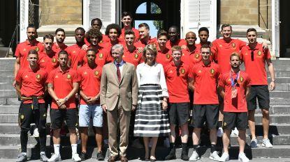 """De speech van Koning Filip voor de Rode Duivels: """"Voor velen zijn jullie de beste ploeg ter wereld"""""""