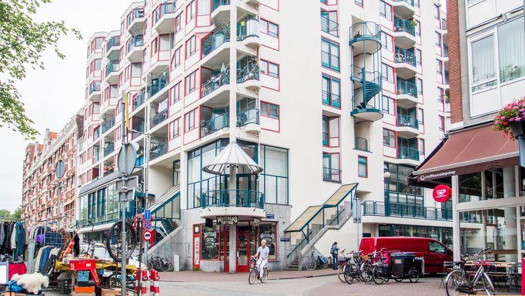 De scheiding tussen publieke en private ruimte in Gran Vista moest volgens architect Dik Tuijnman 'vloeibaar' zijn. Beeld Jesper Boot