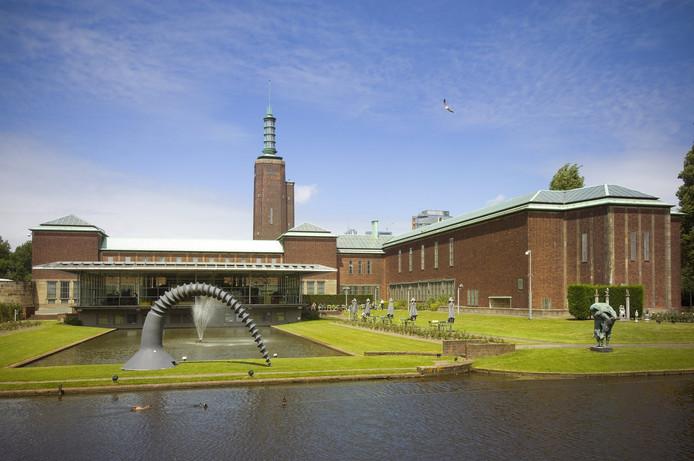 Museum Boijmans Van Beuningen extereur.