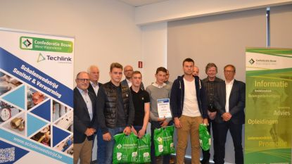 VTI Roeselare eindigt tweede bij scholenwedstrijd Sanitair en Centrale Verwarming van Confederatie Bouw