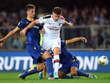 AC Milan worstelt zich naar zege in Verona na tumultueus slot