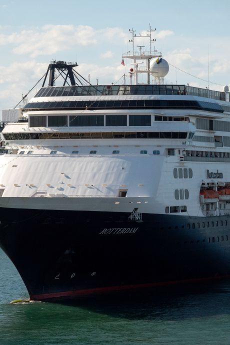 Cruiseschip Rotterdam komt nog één keer naar Rotterdam: 'Een gedenkwaardig moment'