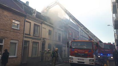 Vijf woningen getroffen door zware brand in Geraardsbergen