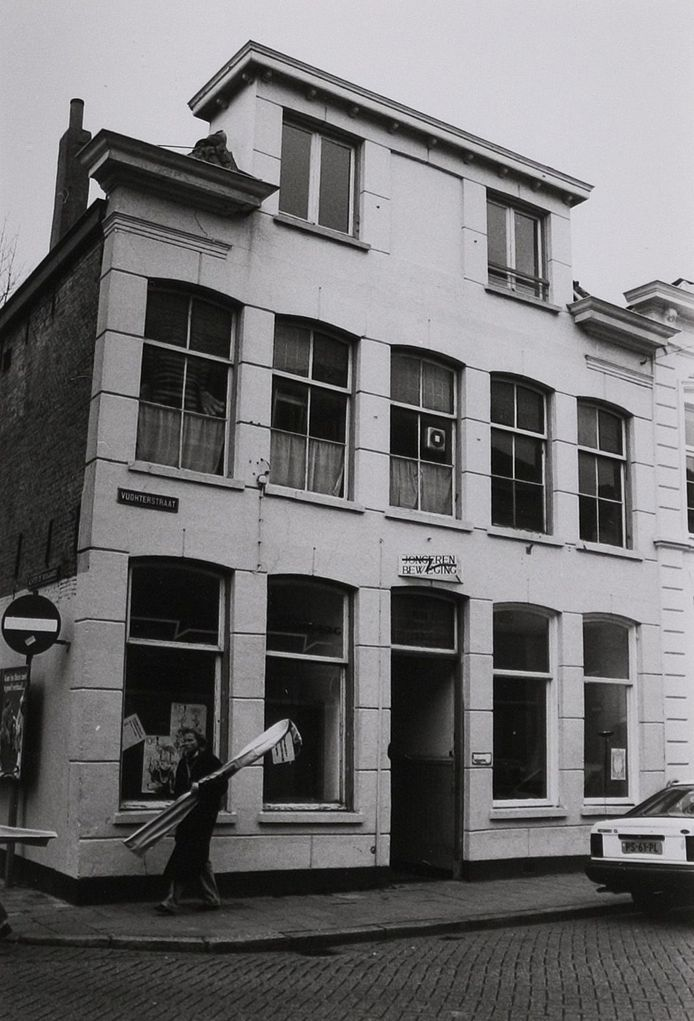 Het pand aan de Vughterdijk (nu Vughterstraat) waar Bets Reijnen woonde.