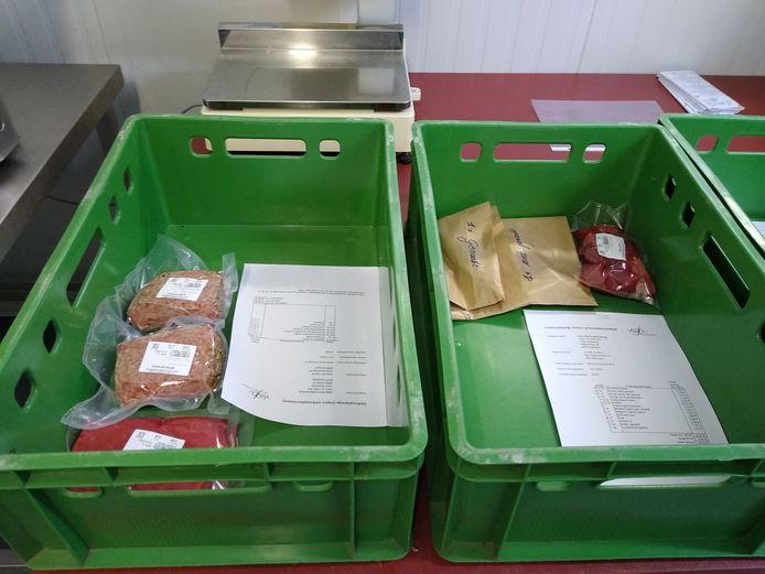 naast groenten, fruit en zuivel kan er online ook vlees worden besteld