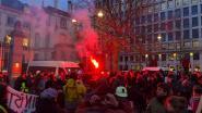 Activisten blokkeren Brusselse zakentop over Davos: politie zet traangas in