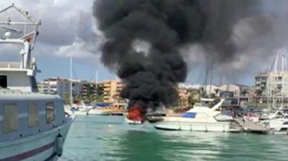 Motorboot ontploft in Spanje: vijf Belgische toeristen zwaar verbrand