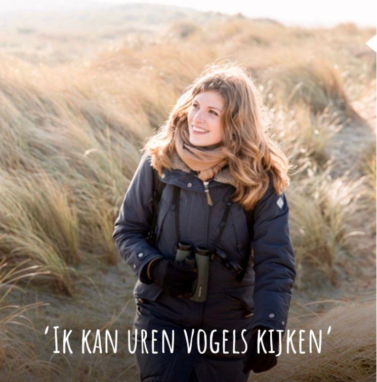 BN'er in de dop: vogeldeskundige Camilla Dreef. Beeld