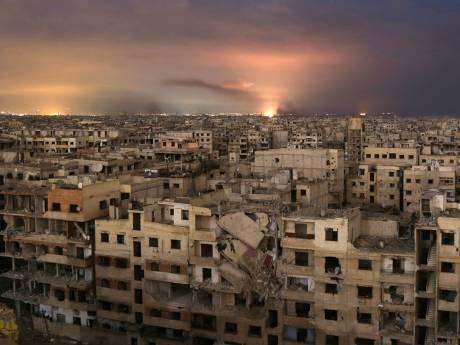 Aanvallen op Ghouta gaan door ondanks VN-resolutie wapenstilstand