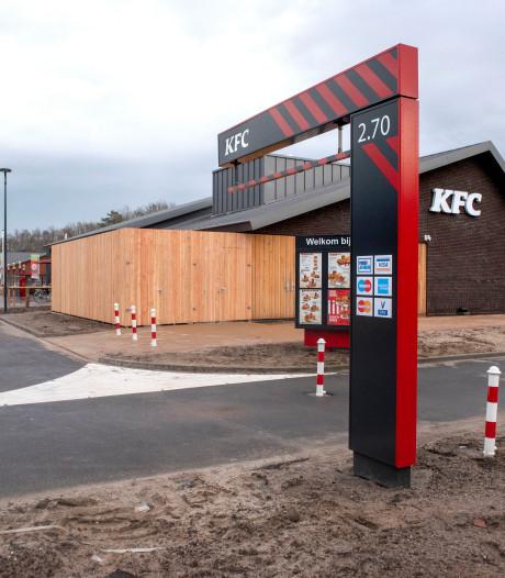 Waarom is de KFC in Harderwijk nog altijd dicht?