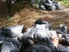 Flinke dumping hennepafval in Ommel