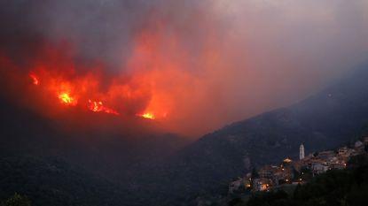 Bosbranden treffen gebied van 2.000 hectare op Corsica