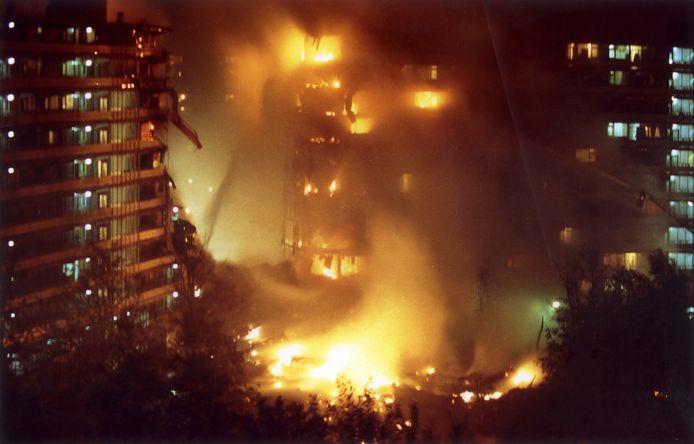 De Bijlmerramp in 1992.