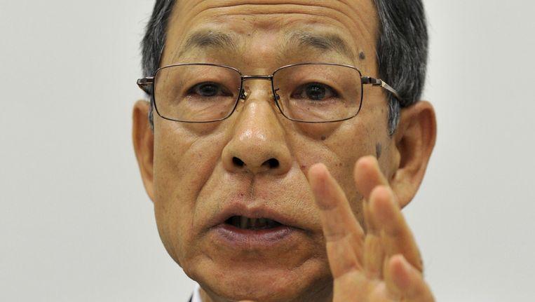 Oud- topman van technologiebedrijf Olympus Tsuyoshi Kikukawa Beeld afp