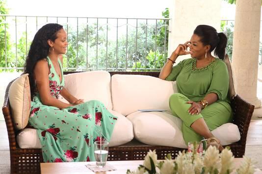 Rihanna was erg openhartig in haar interview met Oprah.