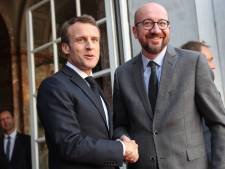 """Macron juge que Charles Michel peut avoir de """"légitimes ambitions européennes"""""""