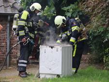 Veel rook bij brand in wasdroger woning in Cuijk