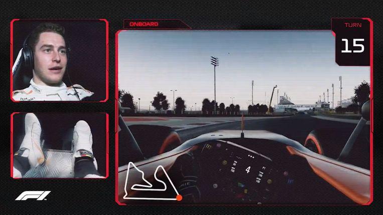 Stoffel Vandoorne geeft ons een virtuele rondleiding op het circuit van Bahrein.