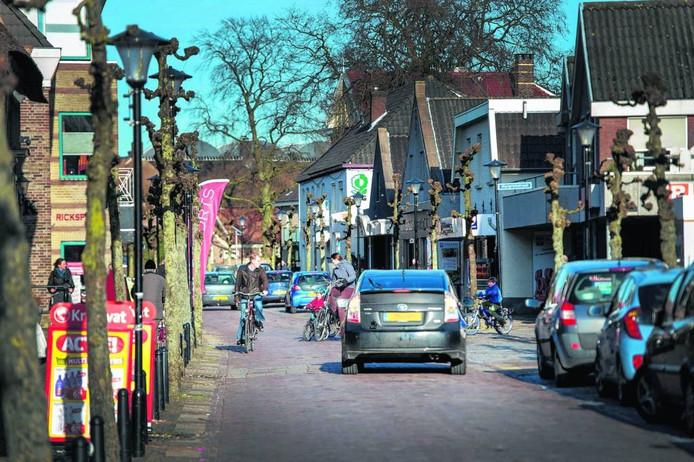 De Hogestraat in Druten krijgt een opknapbeurt.