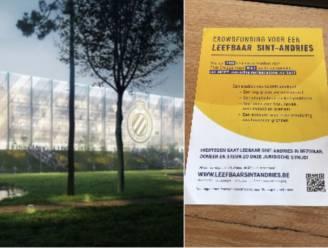 """Buurtbewoners Olympia wapenen zich met crowdfunding tegen nieuw stadion van Club: """"Past niet in Sint-Andries"""""""