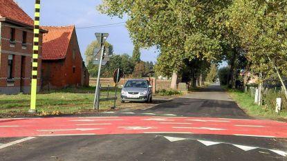 Veilige fietsoversteken klaar op fietsroute naar Hulst