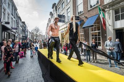 Modellen en catwalks bij Fashion Weekend in Breda