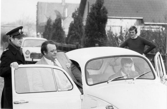 De arrestatie van Willem van de Moosdijk in 1972.