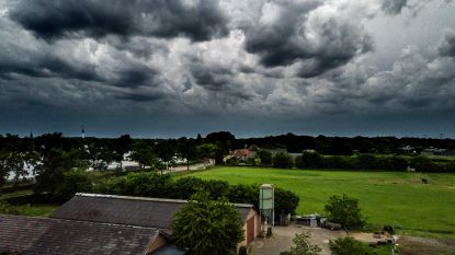Nieuw hevig onweer op komst: code oranje in Limburg