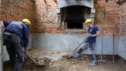 Werken aan gebouwen op domein Beddermolen zijn gestart