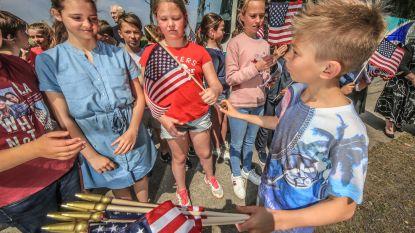 VIDEO. Scholieren herdenken Amerikaanse WO I-gesneuvelden in Kemmel