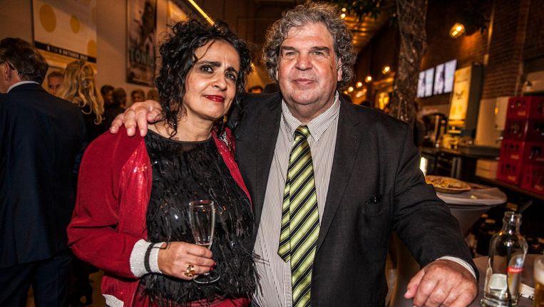 A.F.Th. van der Heijden en Mirjam Rotenstreich: 'De film is een kunstwerk op zich.' Beeld Schuim