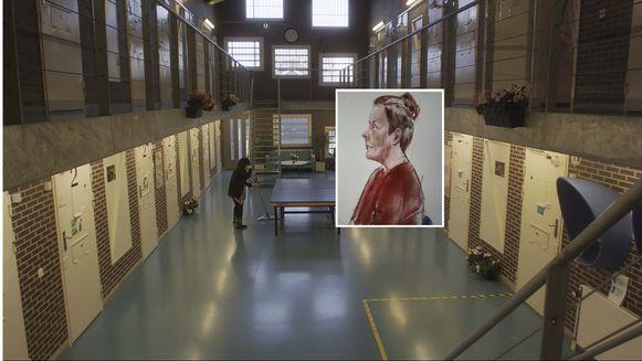 Petra R. (inzet) wordt nu opnieuw vervolgd, omdat ze volgens de aanklager vanuit de gevangenis waar ze haar straf uitzit, een mede-gedetineerde heeft benaderd met het verzoek twee huurmoordenaars haar ex te laten vermoorden.