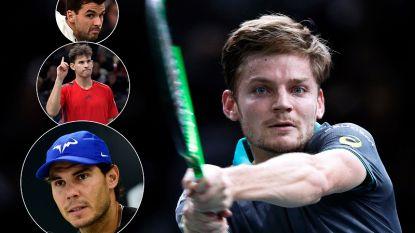 Goffin treft nummer één Nadal, makker Thiem en Bulgaar Dimitrov in eerste ronde Masters