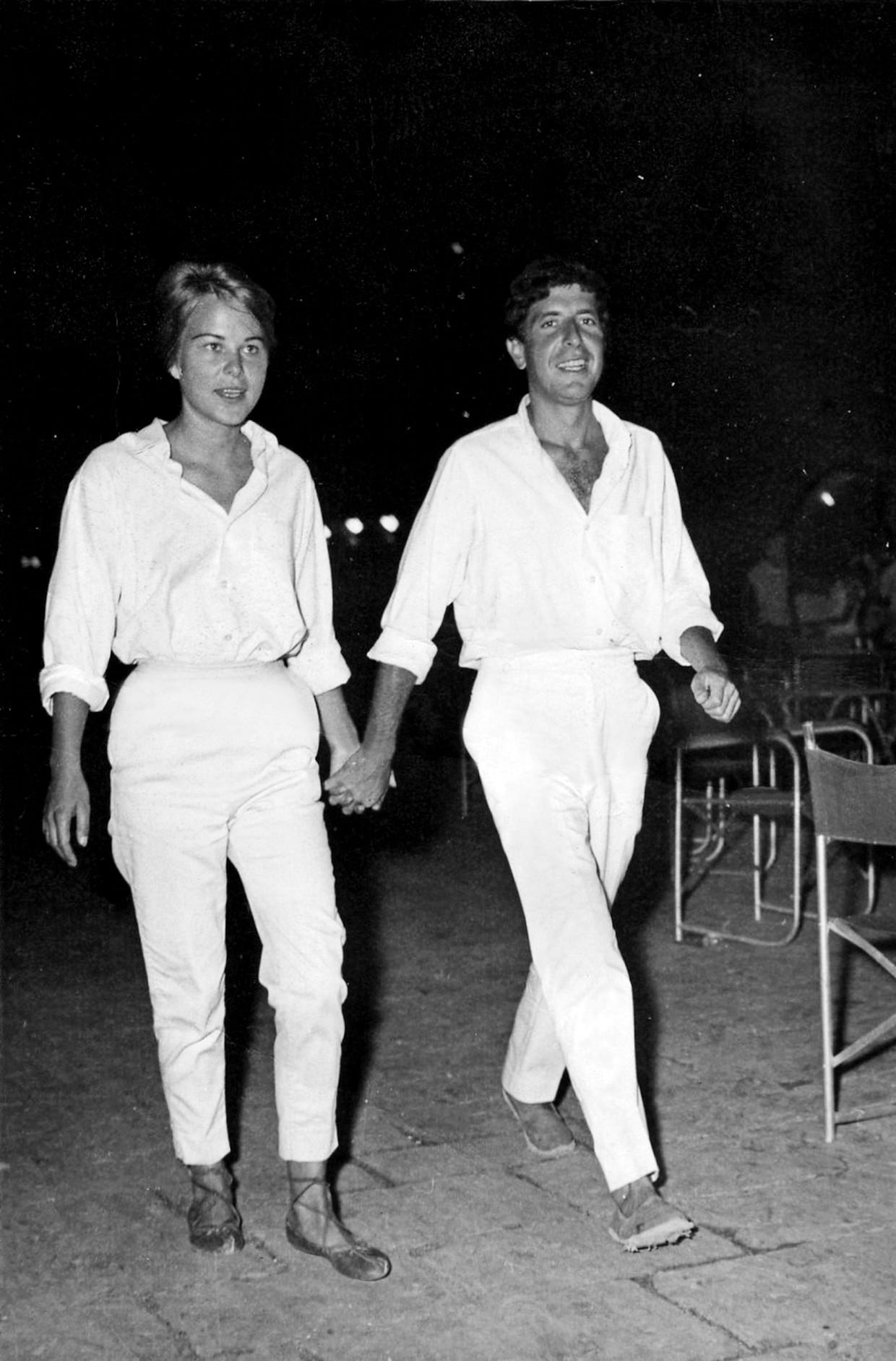 Marianne Ihlen en Leonard Cohen op Hydra.