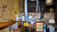 Zo ziet een drugslabo er vanbinnen uit