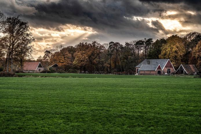 Woold, buitengebied bij Winterswijk.