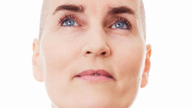 Karin Pijnaker onderging chemotherapie, een borstbesparende operatie en bestraling Beeld Carolien Sikkenk