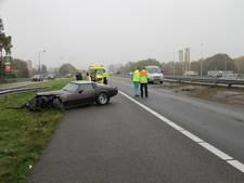 Man (61) veroorzaakt ravage door crash met Corvette op A1