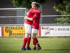 Uitslagen en doelpuntenmakers amateurvoetbal nacompetitie zondag
