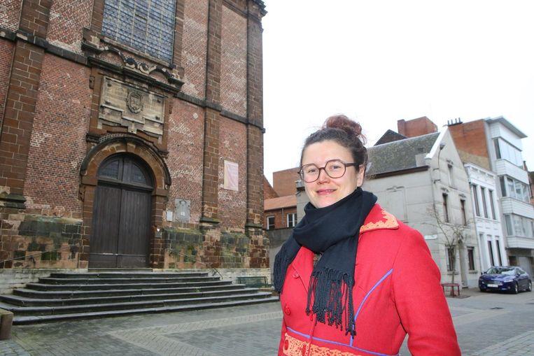 De stad neemt op gedichtendag afscheid van stadsdichter Kristien Nys